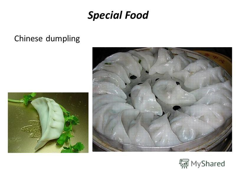 Special Food Chinese dumpling