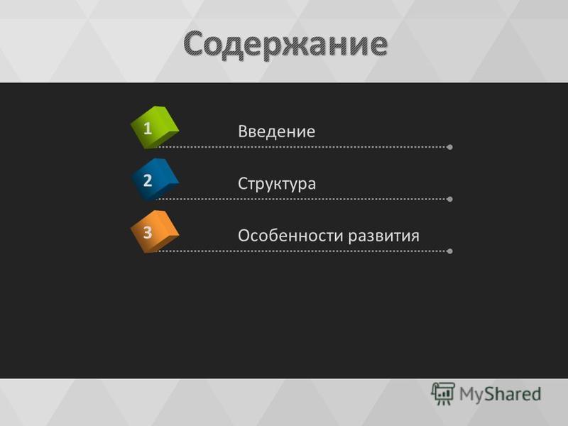 Введение 1 Структура 2 Особенности развития 3