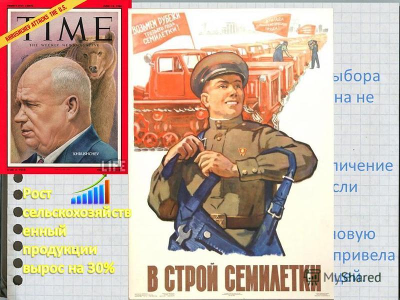 Первый визит советского лидера в Соединённые Штаты, состоялся 1959 году. Знакомство с царицей полей. «Догоним и перегоним Америку!»