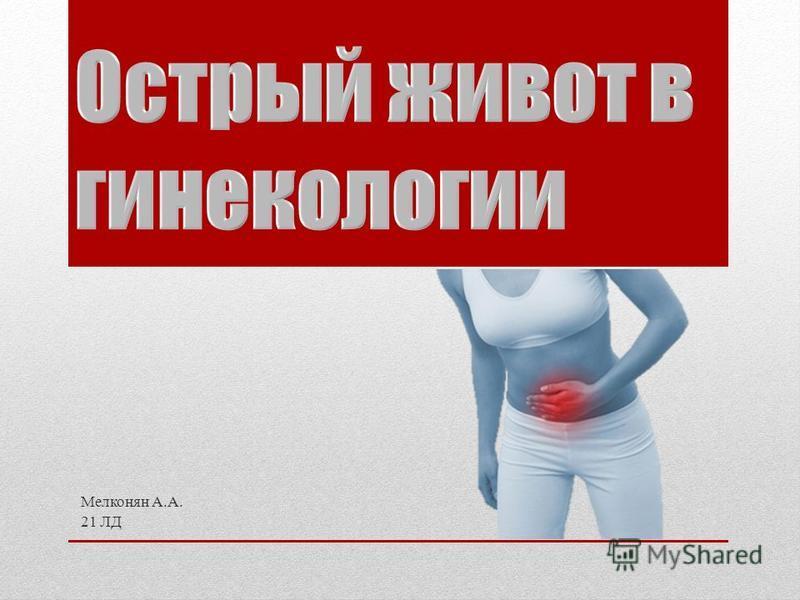 Мелконян А.А. 21 ЛД