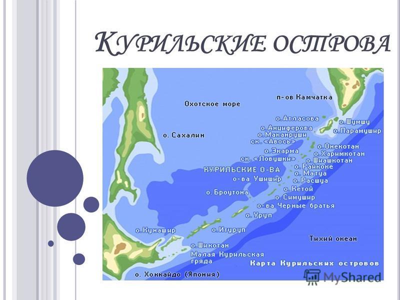 К УРИЛЬСКИЕ ОСТРОВА