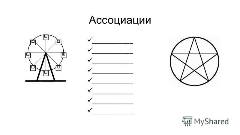 Ассоциации ____________