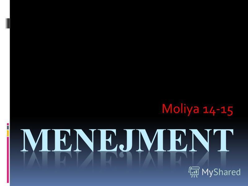 Moliya 14-15