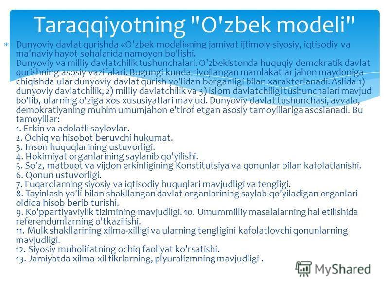 Taraqqiyotning