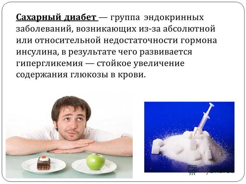 От сахара появляется сахарный диабет