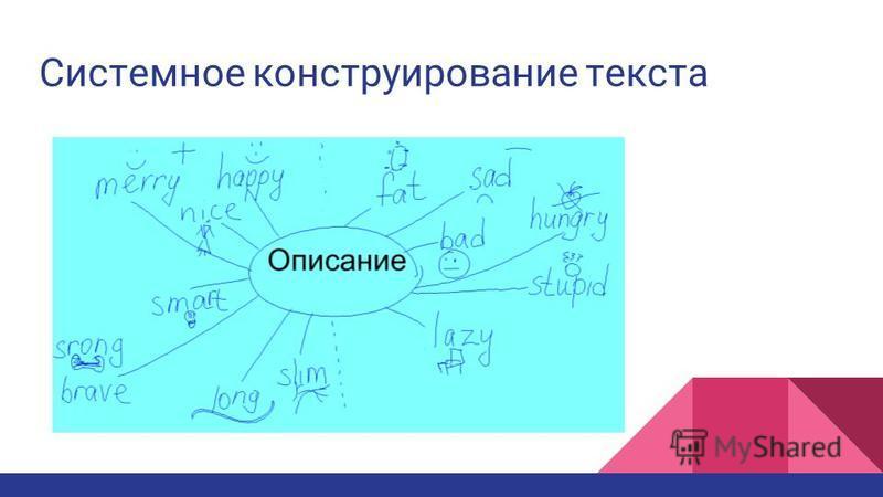 Системное конструирование текста