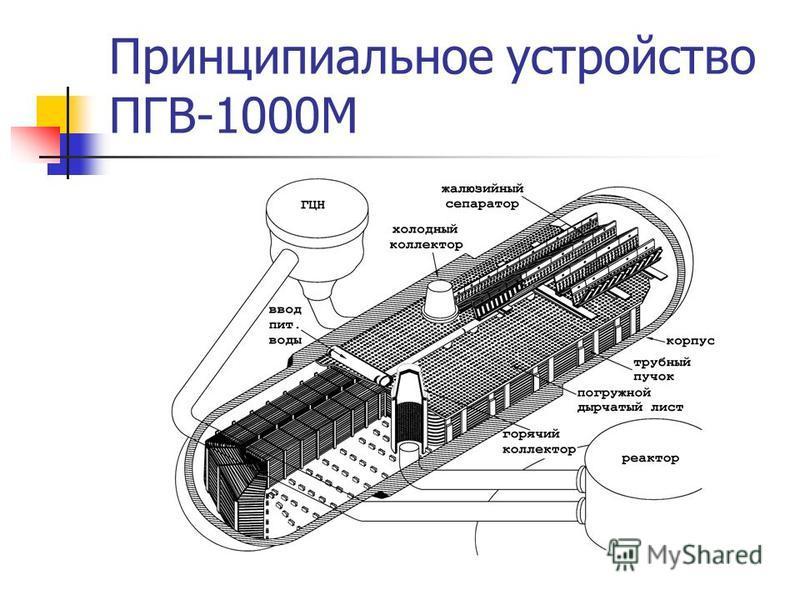 Принципиальное устройство ПГВ-1000М