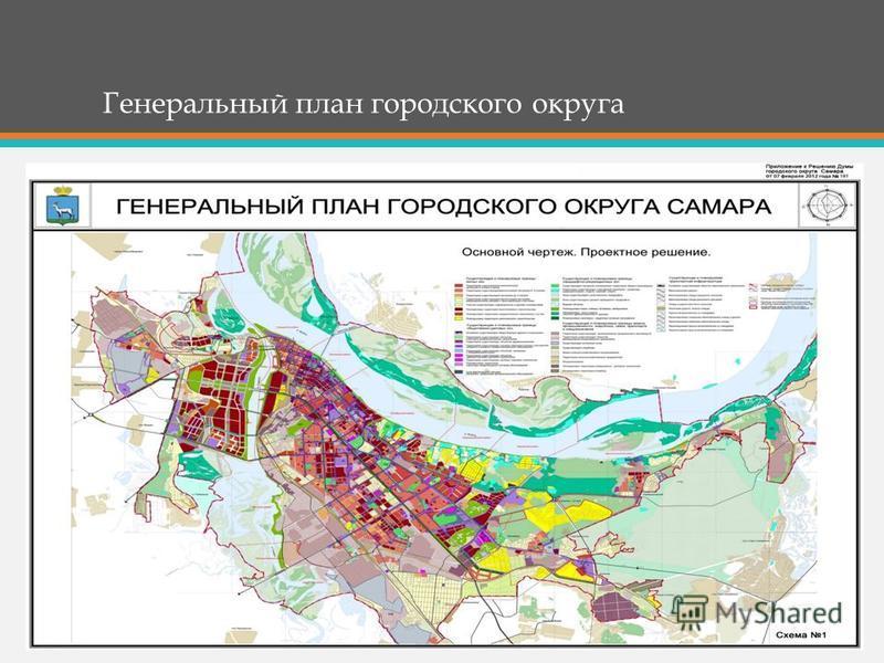 Генеральный план городского округа
