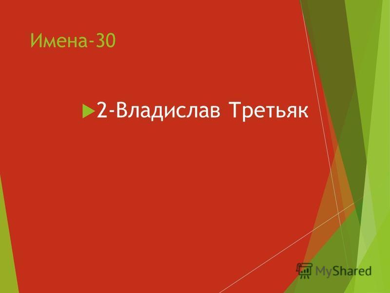 Имена-30 2-Владислав Третьяк