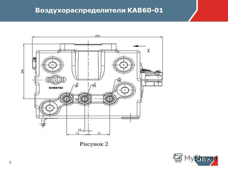 Воздухораспределители КАВ60-01 6