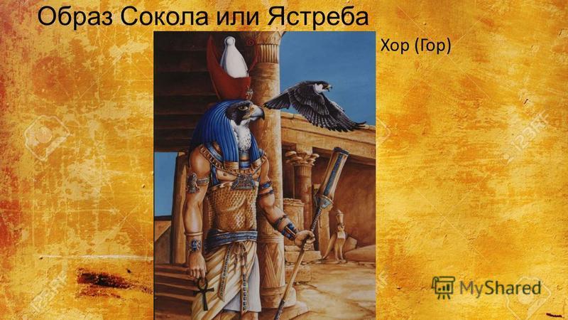 Образ Сокола или Ястреба Хор (Гор)
