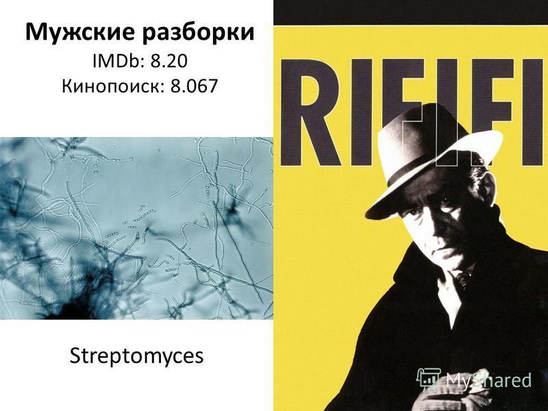 Мужские разборки IMDb: 8.20 Кинопоиск: 8.067 Streptomyces