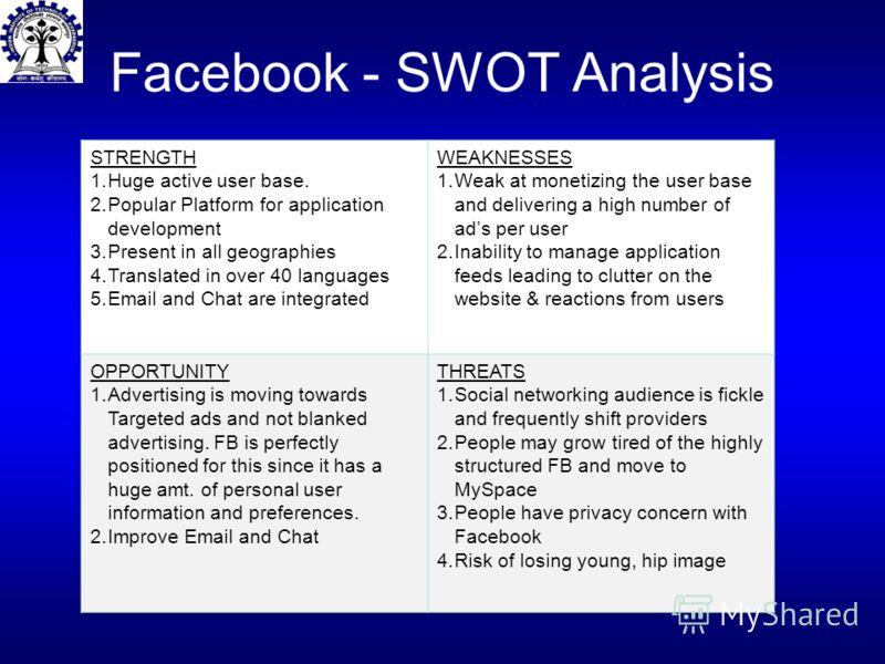 Facebook - SWOT Analysis