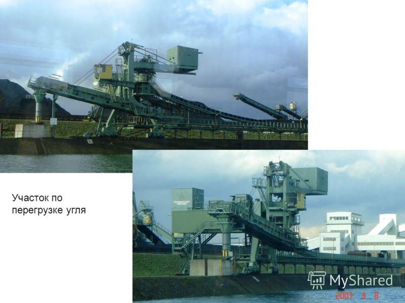 Участок по перегрузке угля