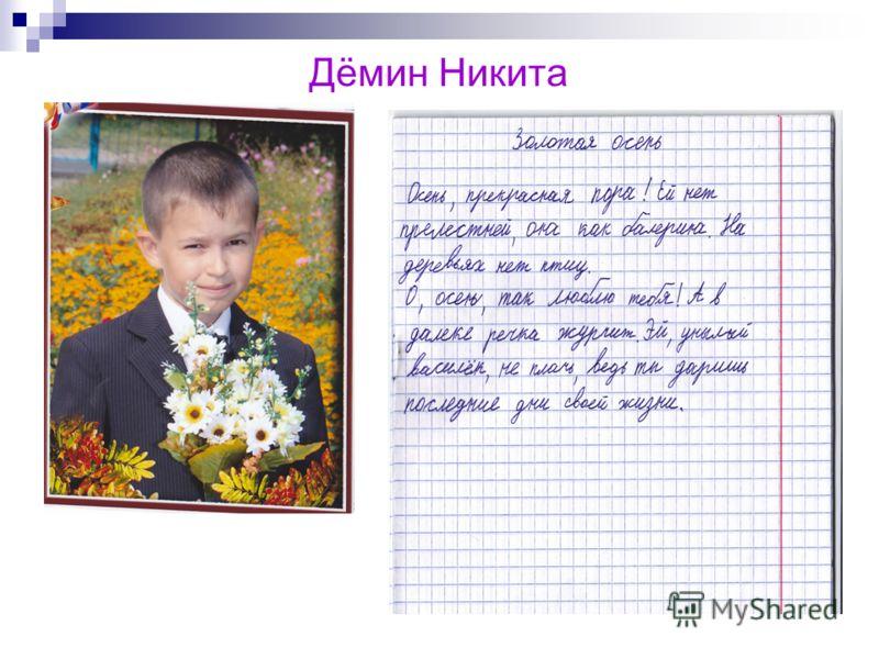 Дёмин Никита