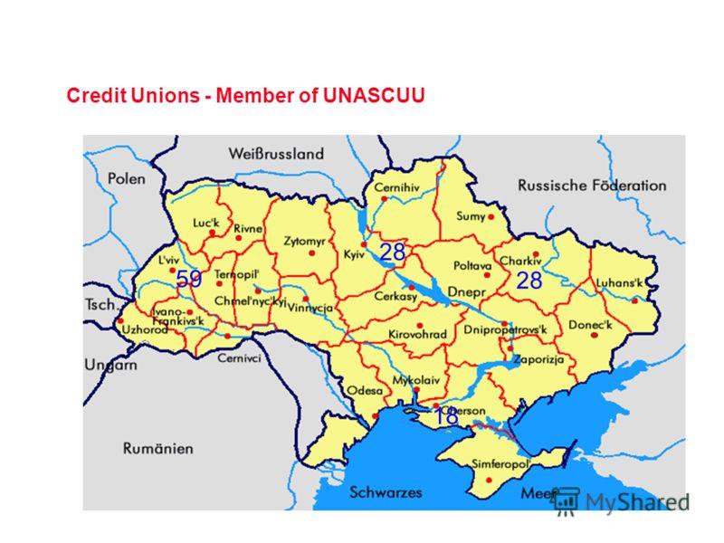 Credit Unions - Member of UNASCUU 59 28 18