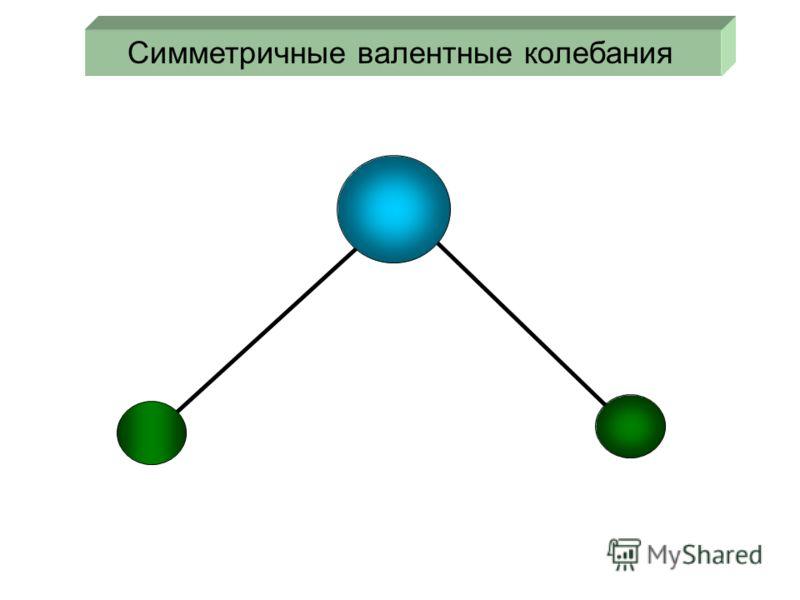 Симметричные валентные колебания