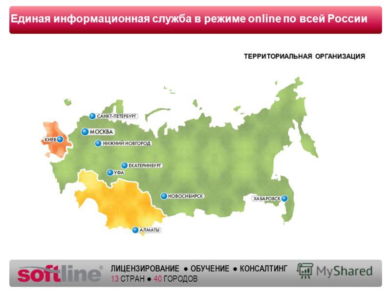 Оазец заголовка ЛИЦЕНЗИРОВАНИЕ ОБУЧЕНИЕ КОНСАЛТИНГ 13 СТРАН 40 ГОРОДОВ Единая информационная служба в режиме online по всей России ТЕРРИТОРИАЛЬНАЯ ОРГАНИЗАЦИЯ ТЕРРИТОРИАЛЬНАЯ ОРГАНИЗАЦИЯ