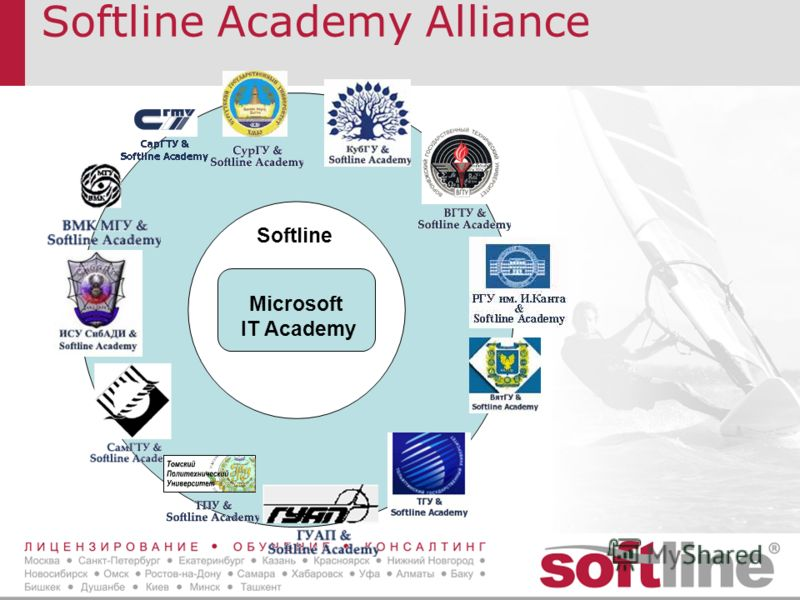 Softline Academy Alliance Microsoft IT Academy Softline