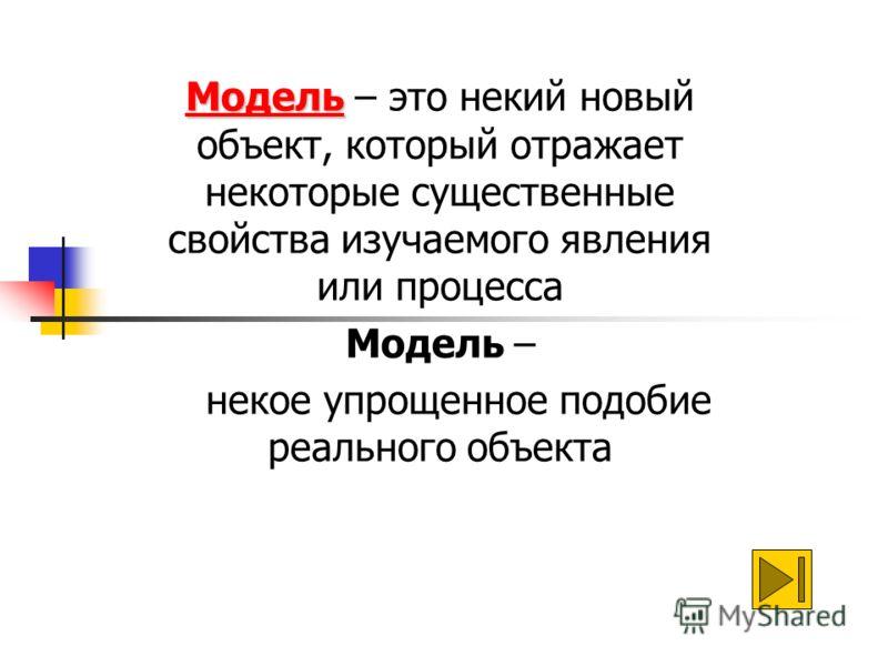 Моделирование как метод познания Моделирование – это метод познания, состоящий в создании и исследовании моделей 29.08.2012