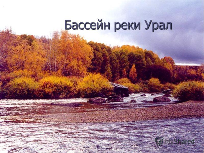 Бассейн реки Урал