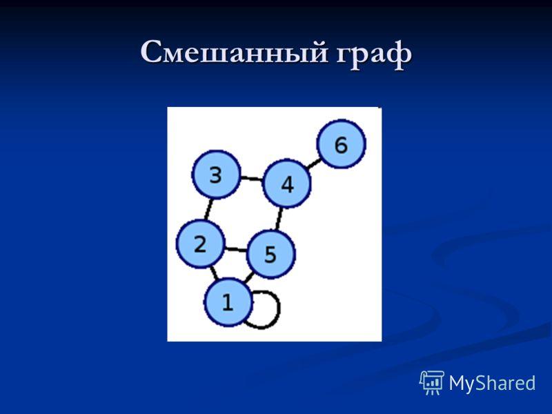 Смешанный граф