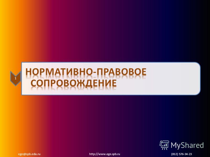 ege@spb.edu.ru http://www.ege.spb.ru (812) 576-34-23 1