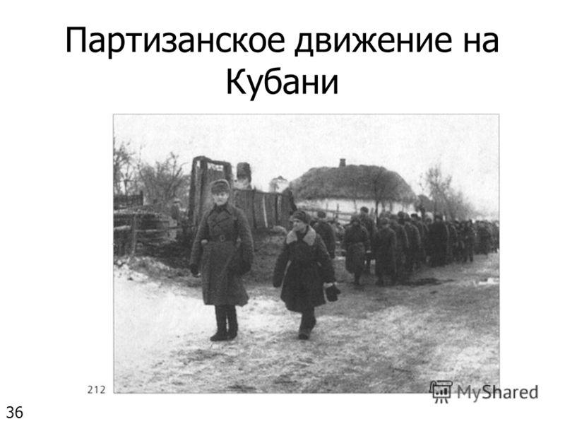 Партизанское движение на Кубани 36