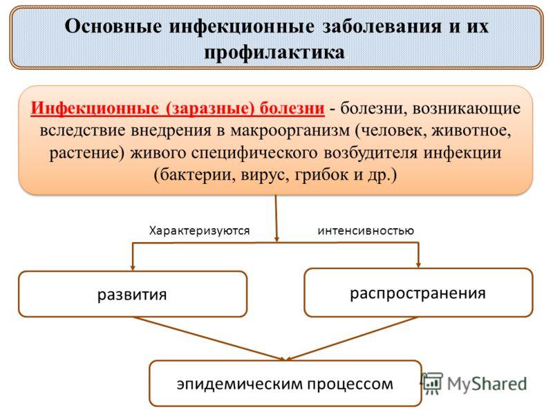 Презентация на тему Основные инфекционные заболевания и их  2 Основные инфекционные заболевания