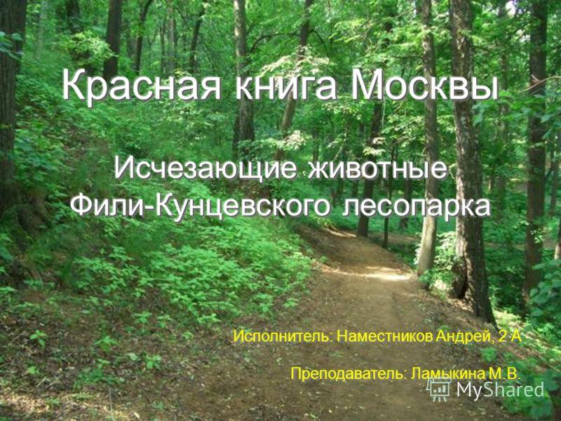 Исполнитель: Наместников Андрей, 2 А Преподаватель: Ламыкина М.В.