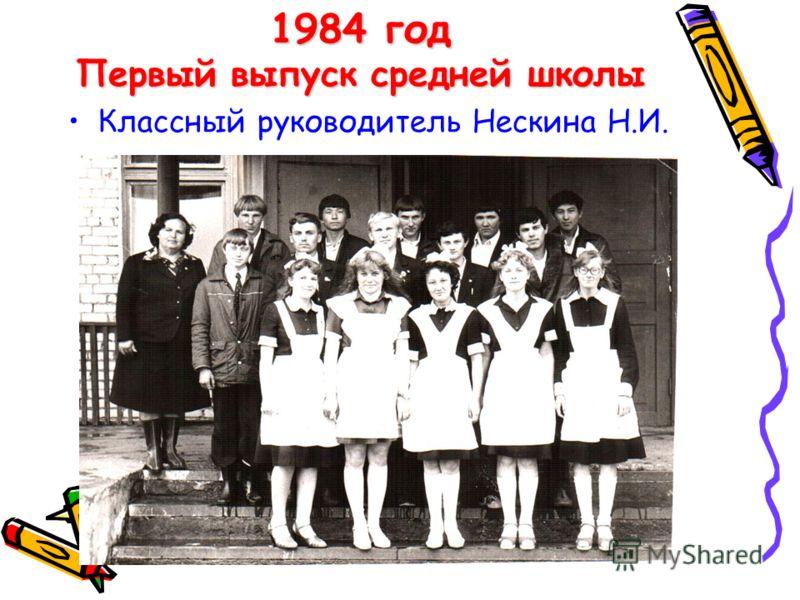 1977 – 2012 г.г. С 1977 года по 1982 год школа оставалось восьмилетней.С 1977 года по 1982 год школа оставалось восьмилетней. В 1982 году школа стала средней десятилетней школой.В 1982 году школа стала средней десятилетней школой. Первый выпуск средн