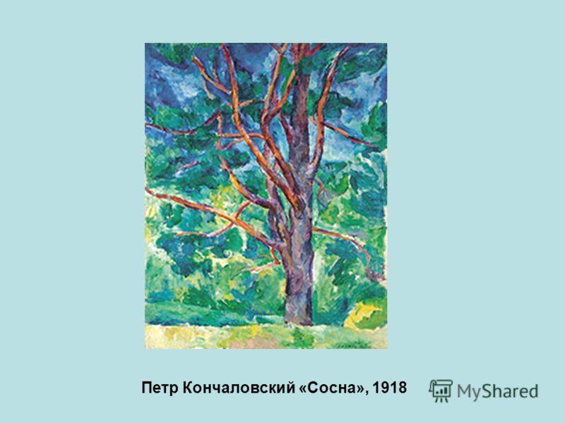 Петр Кончаловский «Сосна», 1918