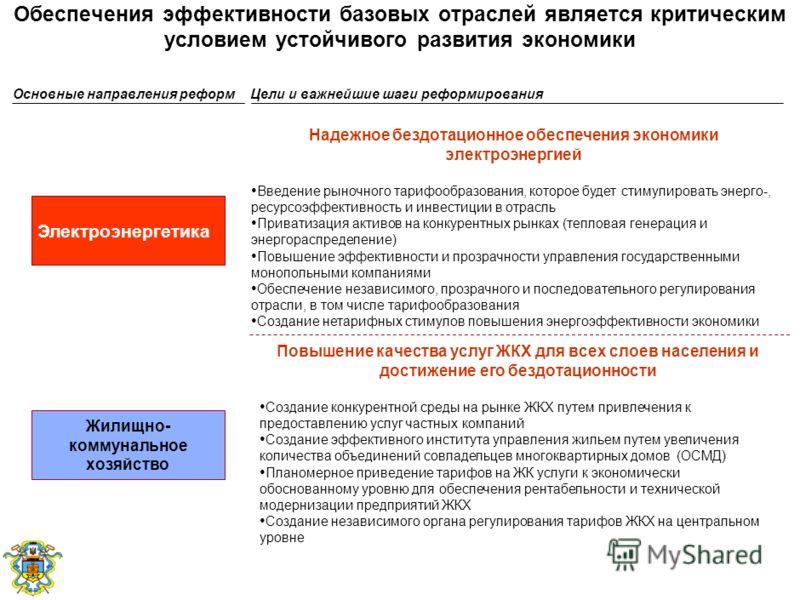Поддержка постоянных темпов экономического роста требует углубления международной интеграции Украины Целостная и сбалансированная внешнеэкономическая политика, диверсификация экспорта за счет улучшения условий внешней торговли для украинских производ