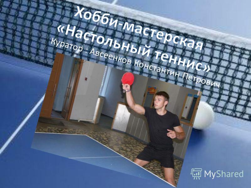 Куратор : Авсеенков Константин Петрович