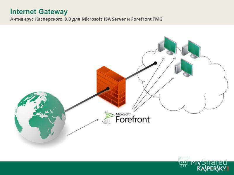 Internet Gateway Антивирус Касперского 8.0 для Microsoft ISA Server и Forefront TMG