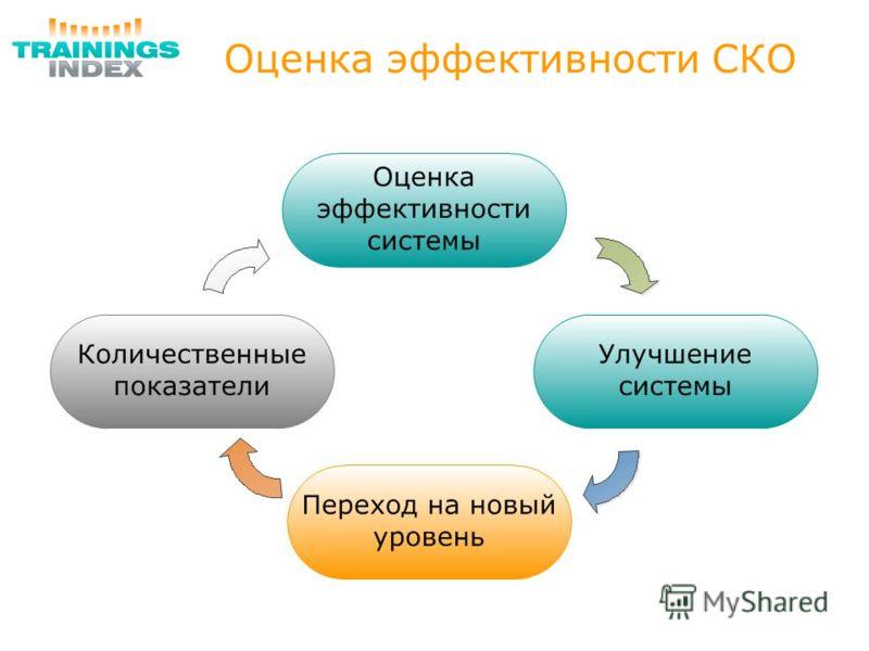 Оценка эффективности СКО