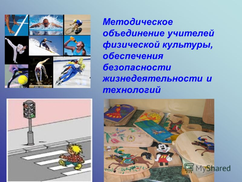 Методическое объединение учителей физической культуры, обеспечения безопасности жизнедеятельности и технологий