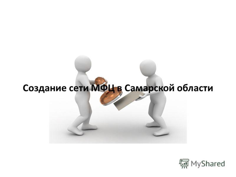 Создание сети МФЦ в Самарской области