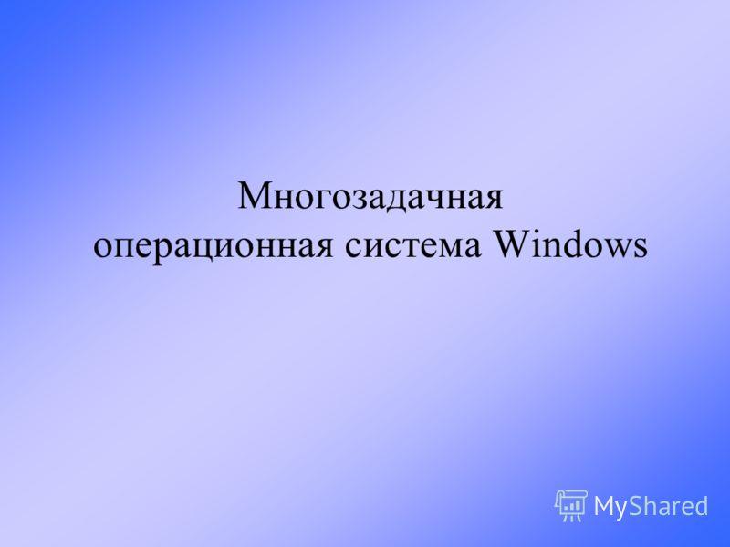 Многозадачная операционная система Windows