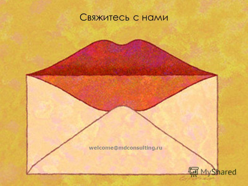 Свяжитесь с нами welcome@mdconsulting.ru