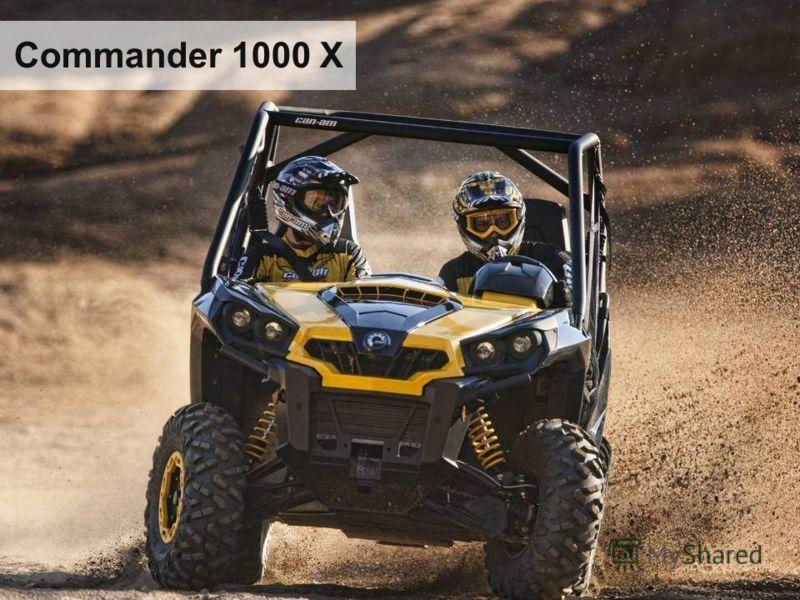 Commander 1000 X