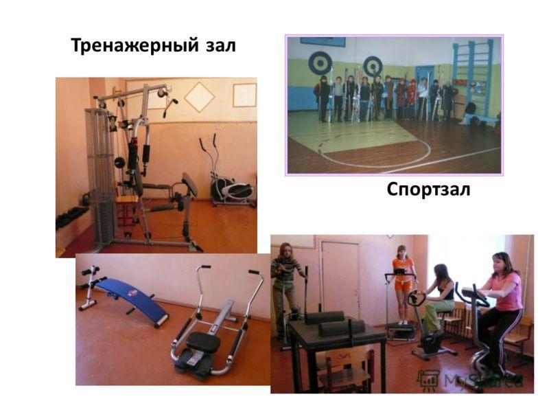 Спортзал Тренажерный зал