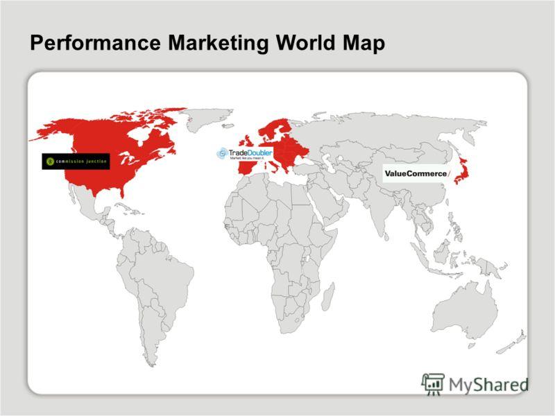 Performance Marketing World Map