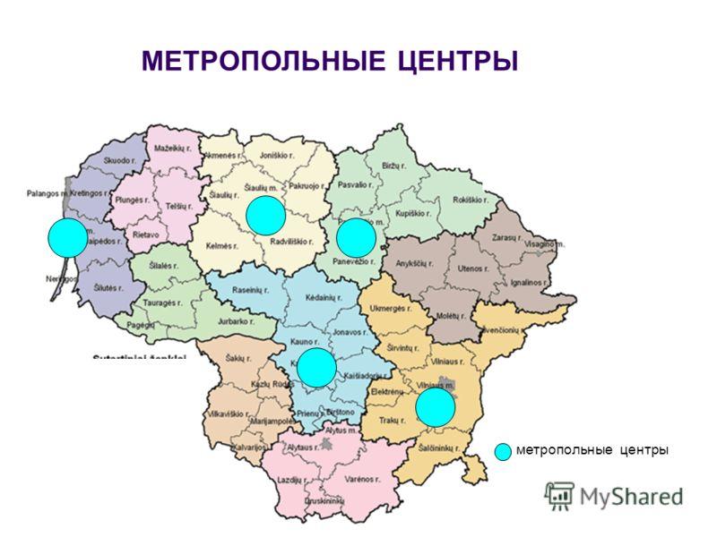 МЕТРОПОЛЬНЫЕ ЦЕНТРЫ метропольные центры