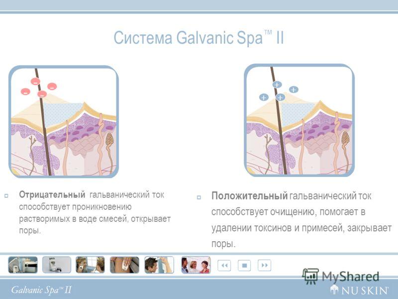 Система Galvanic SPAII - это запатентованнный прибор с тремя взаимозаменяемыми насадками: Насадка для лица : воспользуйтесь всеми преимуществами оригинальной сменной насадкой для лица. Насадка для тела: волнообразная форма насадки позволяет увеличить