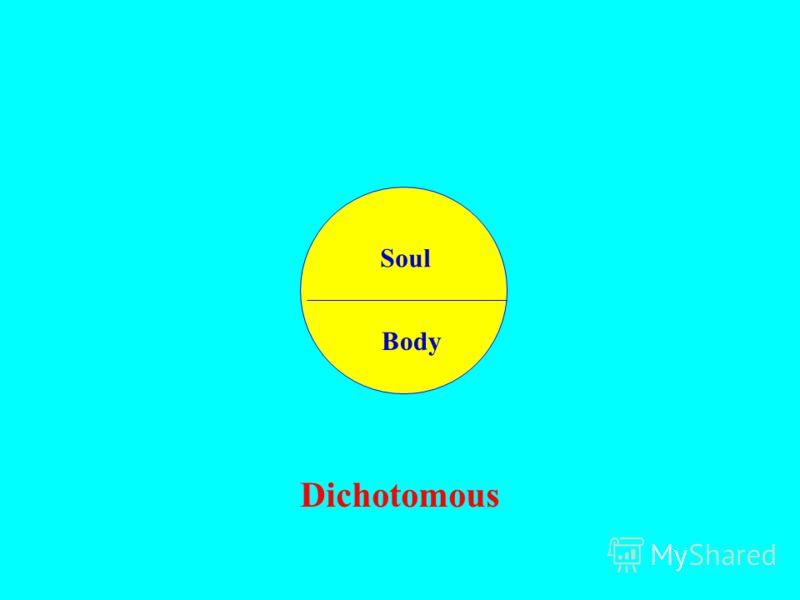 Soul Body Dichotomous Soul Body