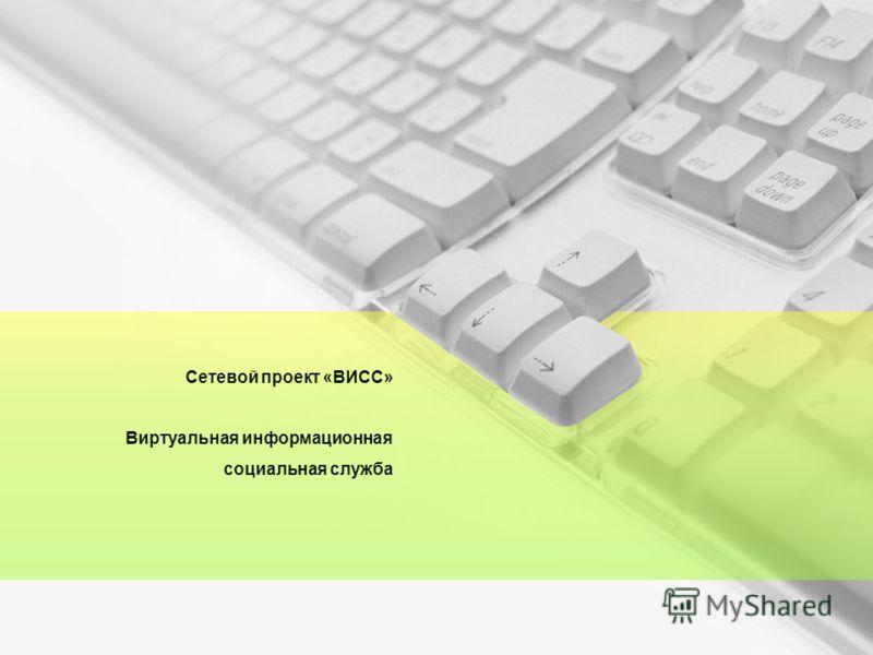 Сетевой проект «ВИСС» Виртуальная информационная социальная служба
