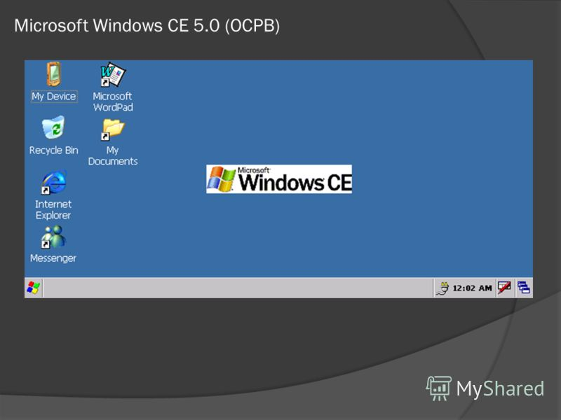 Microsoft Windows CE 5.0 (ОСРВ)