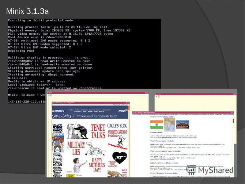 Minix 3.1.3a