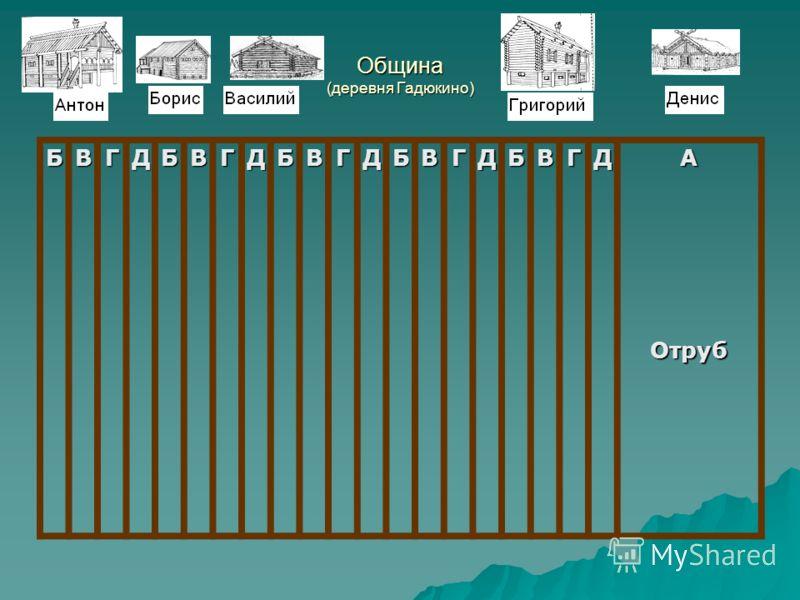Община (деревня Гадюкино) БВГДБВГДБВГДБВГДБВГДАОтруб